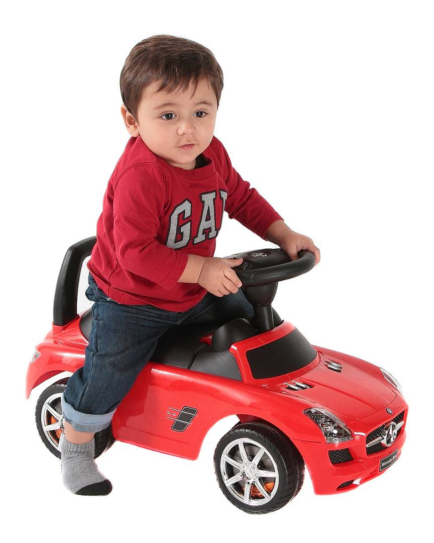 Best Ride On Cars Mercedes Push Car   - Size: NoSize