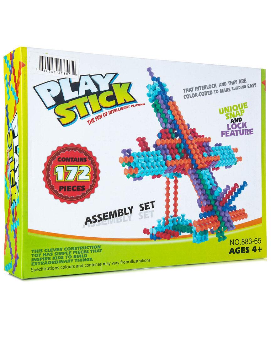 Yuka Super Toys 172pc Play-Stick Creative Block Set   - Size: NoSize