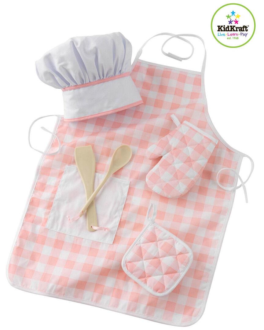 KidKraft Tasty Treats Pink Chef Accessory Set   - Size: NoSize