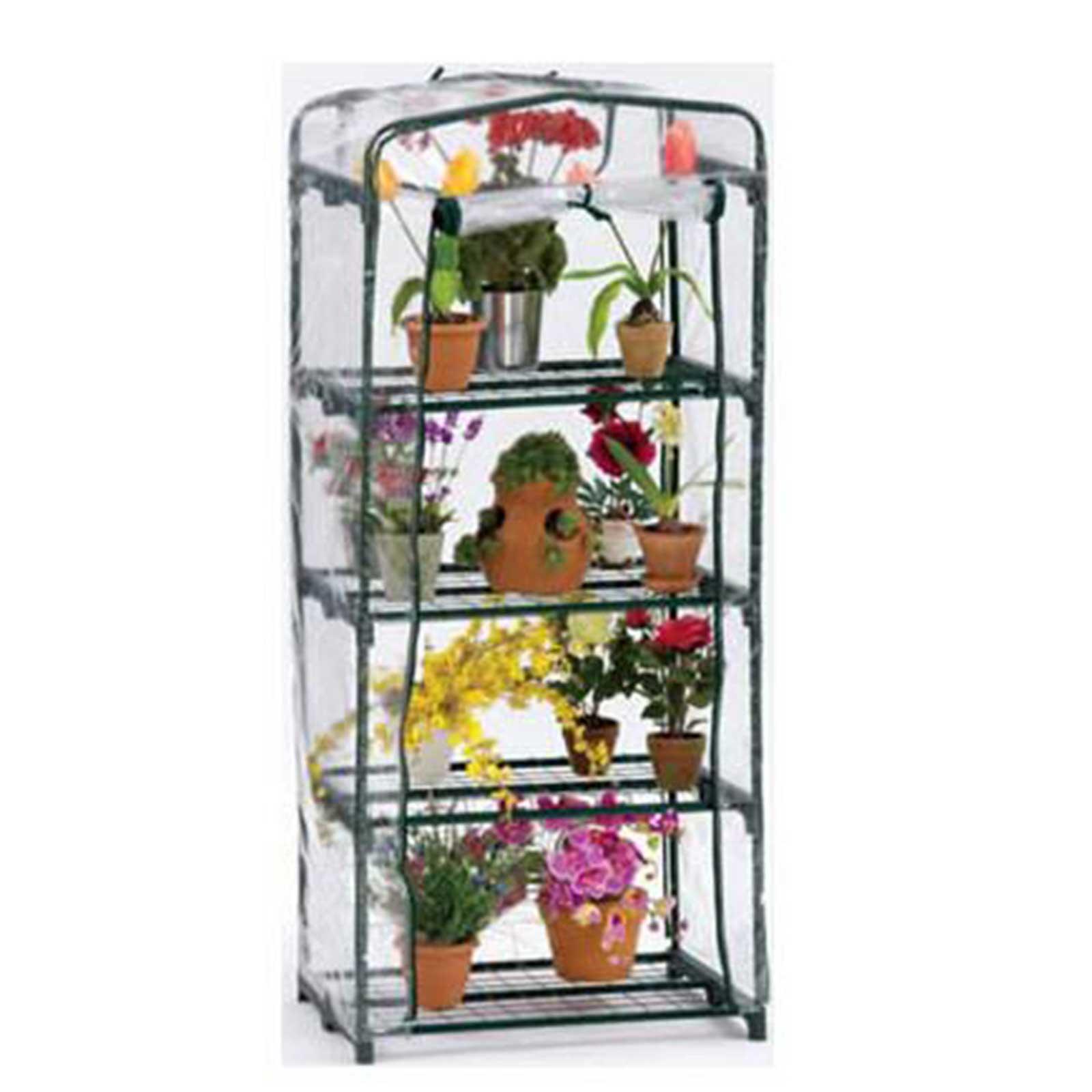 FlowerHouse Indoor-Outdoor Mini Greenhouse / Garden Plant Growing Rack