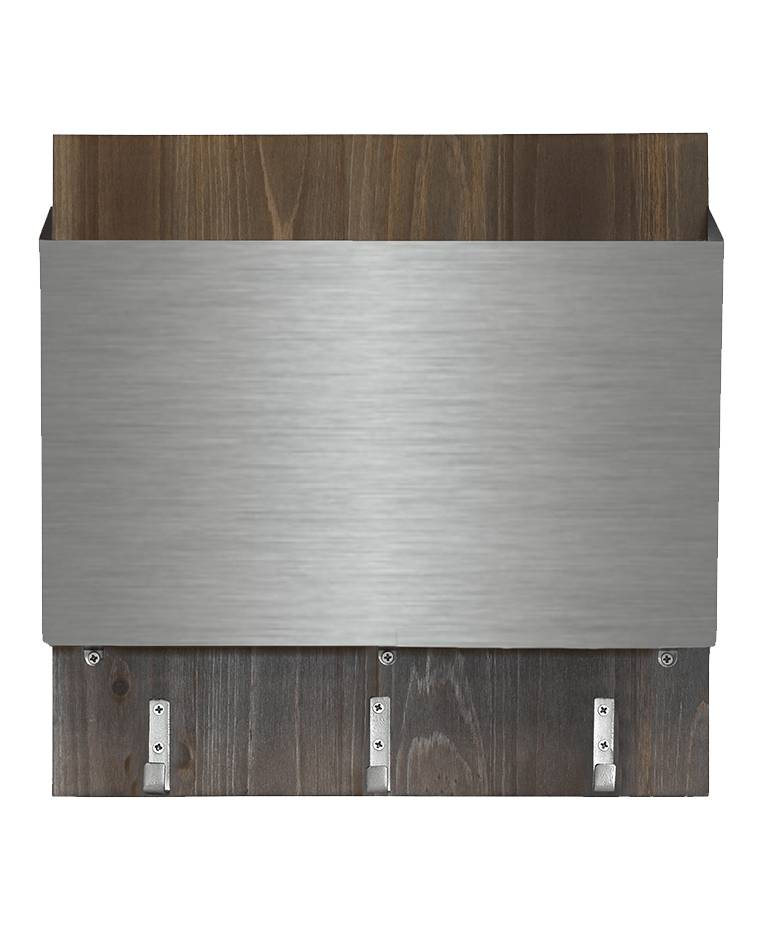 1THRIVE Silver Matte File Holder