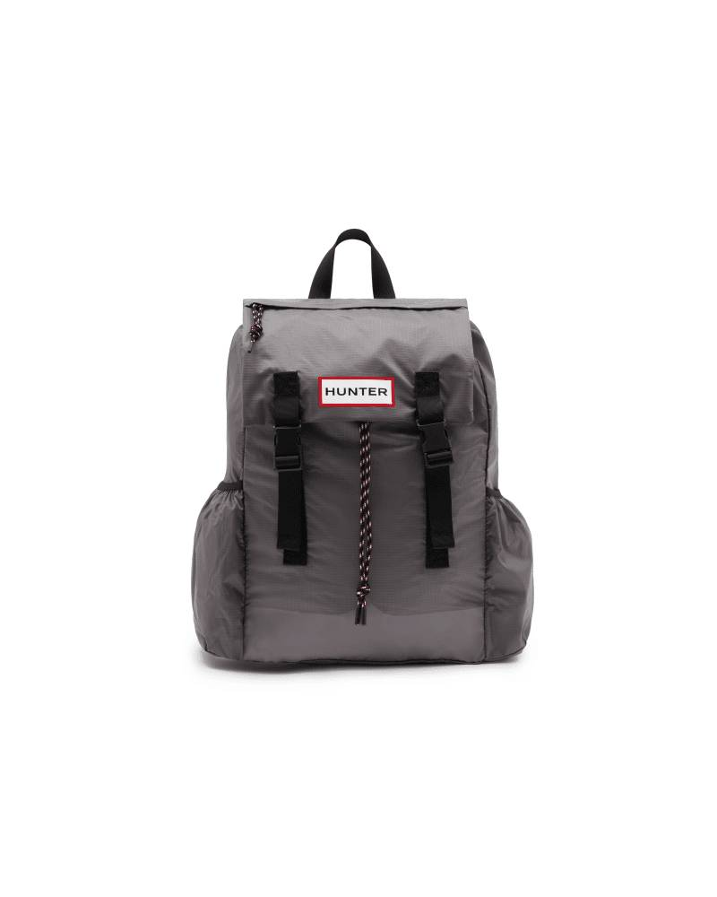 Hunter Boots Original Ripstop Packable Backpack  - Grey - Size: One