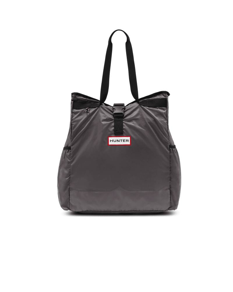 Hunter Boots Original Ripstop Packable Tote Bag  - Grey - Size: One