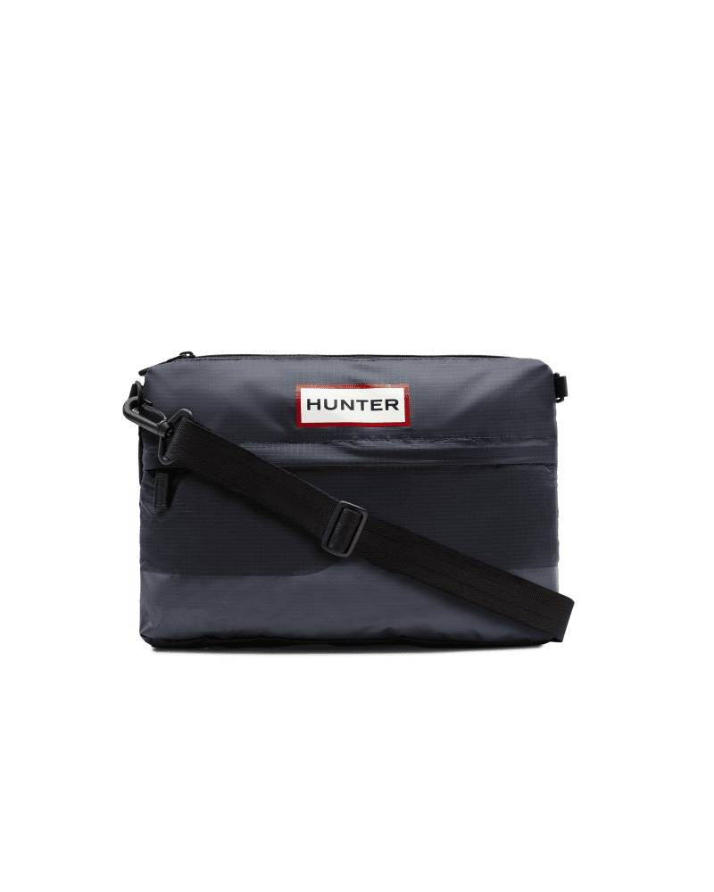 Hunter Boots Original Ripstop Sacoche Side Bag  - Blue - Size: One