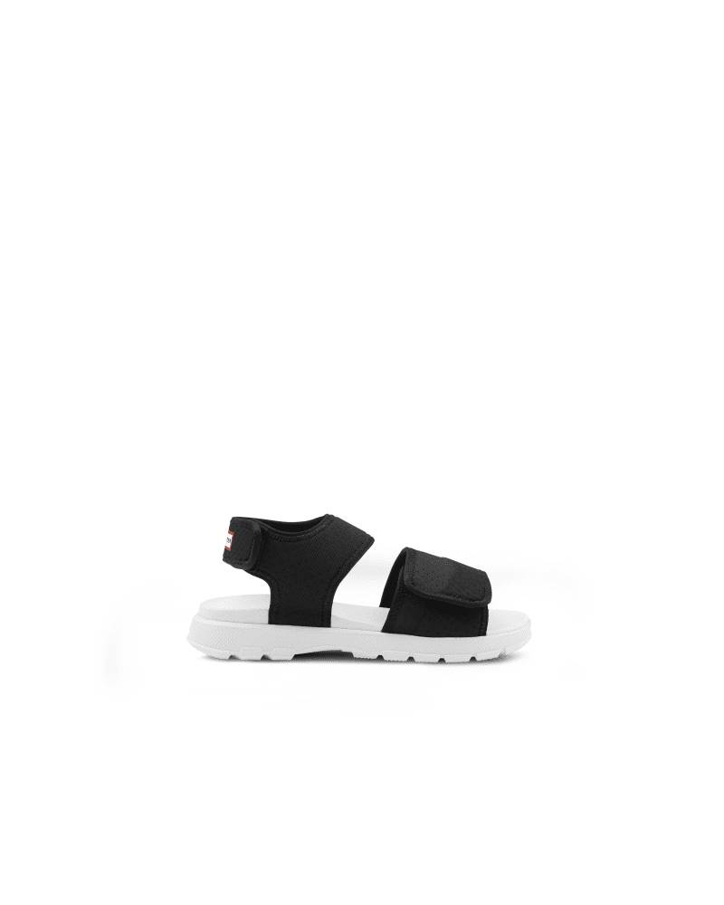Hunter Boots Women's Original Outdoor Walking Sandal  - Black - Size: US 8