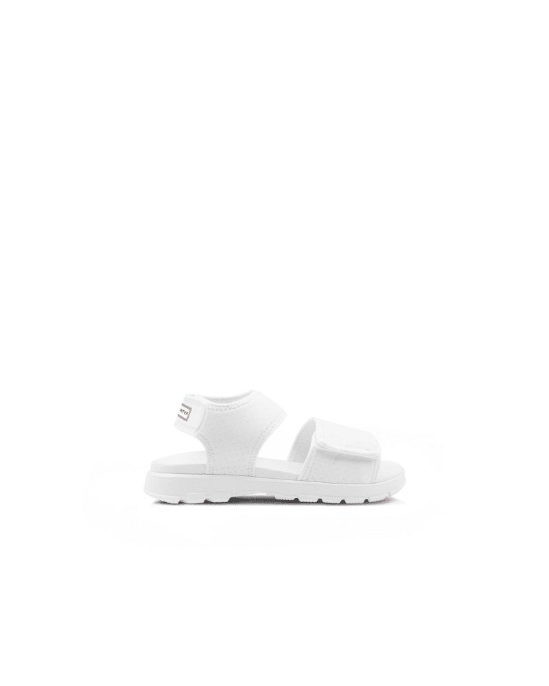 Hunter Boots Women's Original Outdoor Walking Sandal  - White - Size: US 8