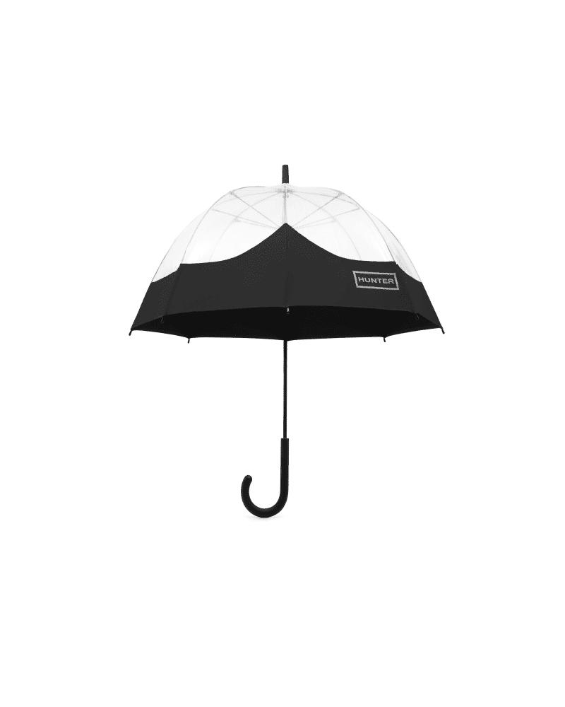 Hunter Boots Original Moustache Bubble Umbrella  - Black - Size: One