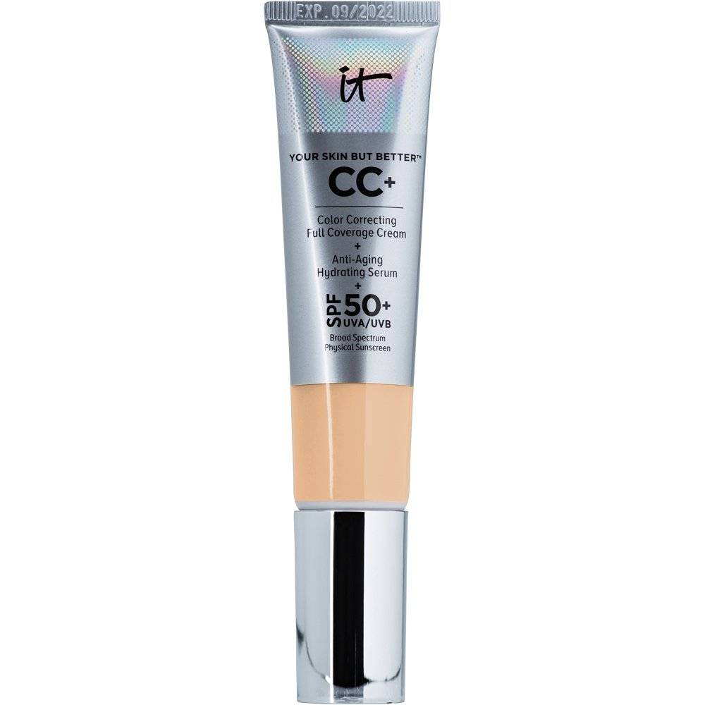 IT COSMETICS CC+ Cream with SPF 50+ - Medium Tan (medium to tan skin w/ warm yellow undertone)