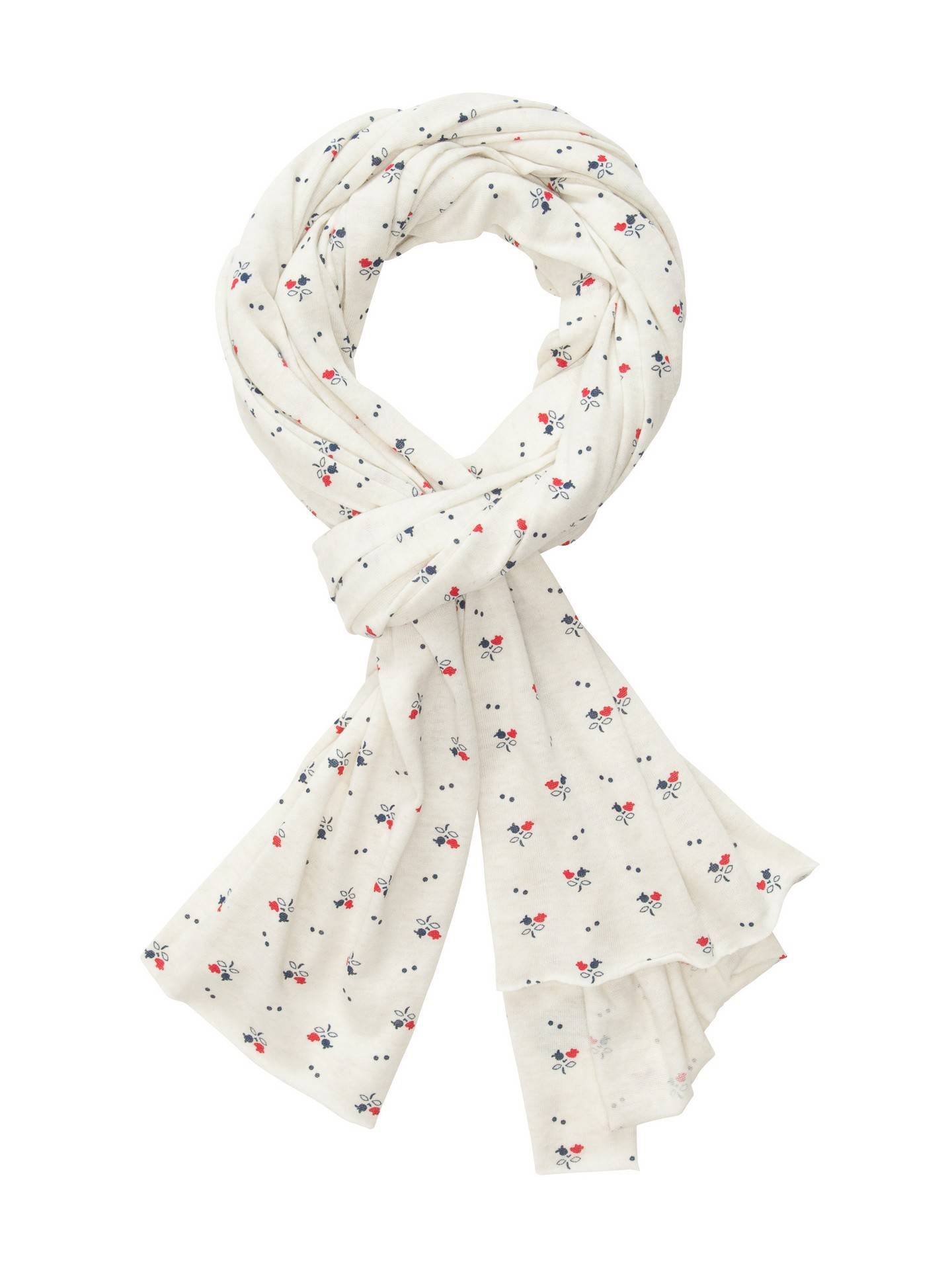 Alternative Apparel Printed Oversized Bundle Up Scarf - American Ditsy Pink - Size: OS