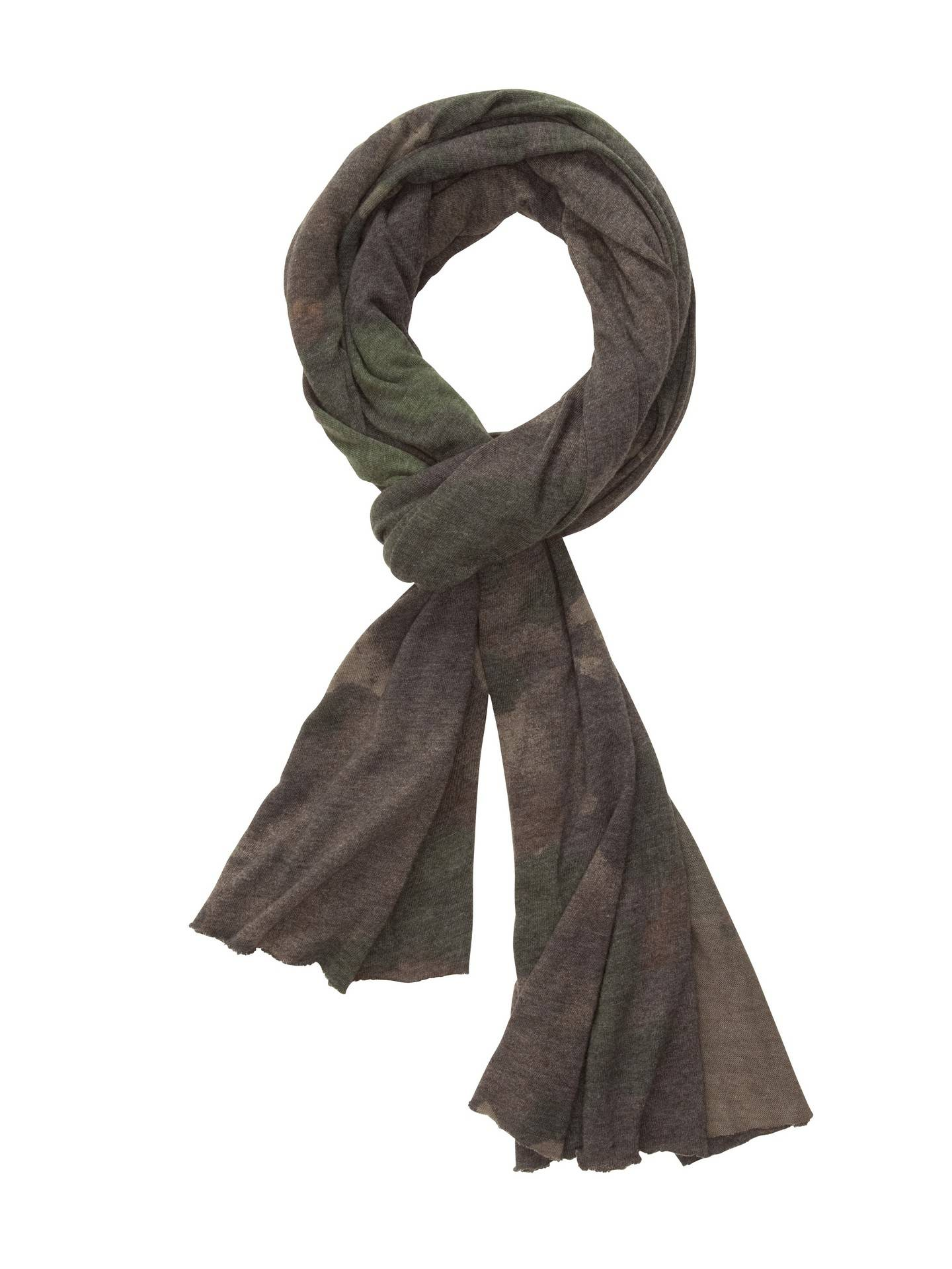 Alternative Apparel Printed Oversized Bundle Up Scarf - Camouflage Dreamstate - Size: OS
