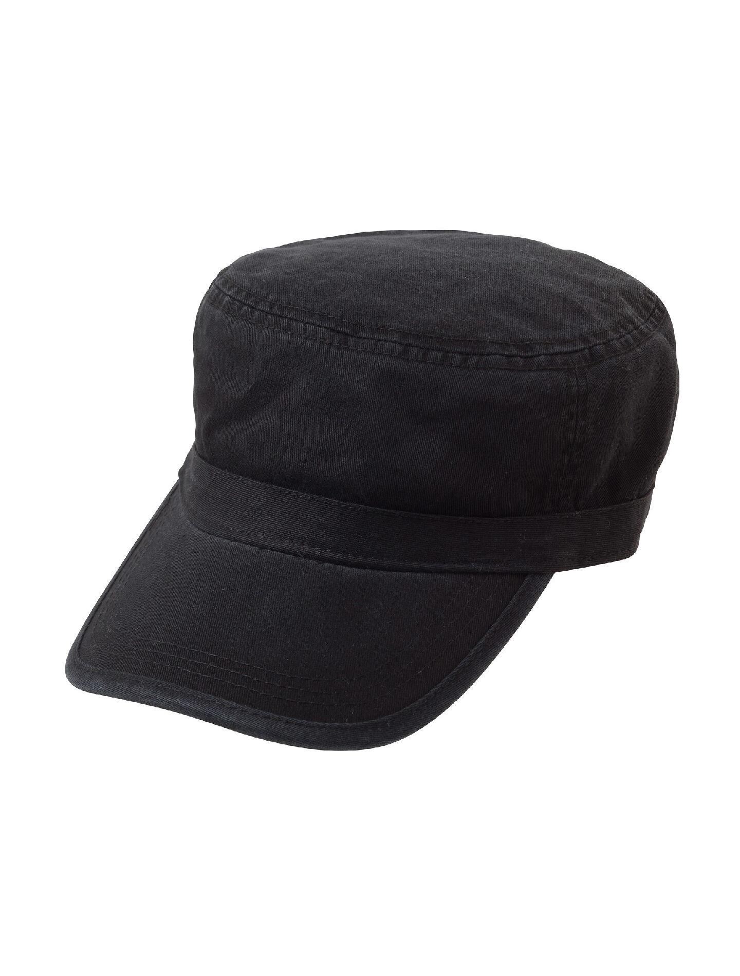 Alternative Apparel Fidel Cap - Black - Size: OS