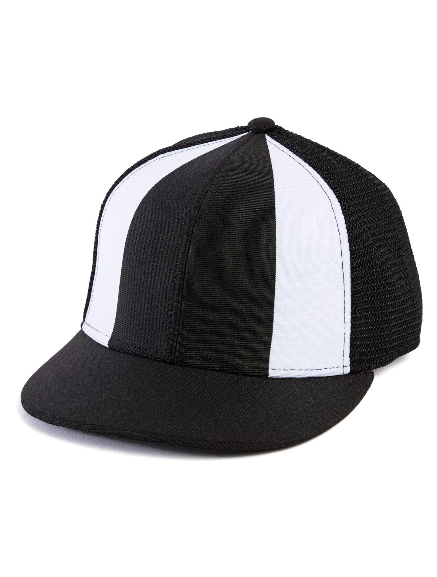 Alternative Apparel The Fenway Ball Cap - Black & White - Size: OS