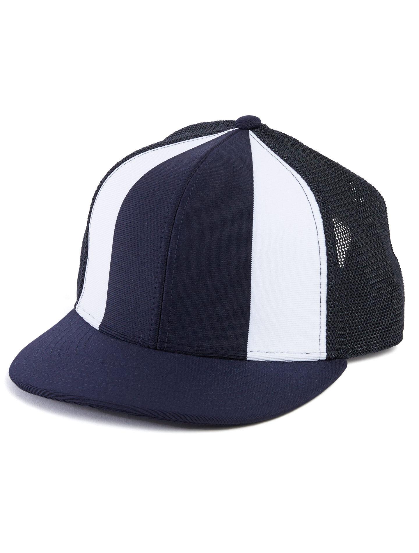 Alternative Apparel The Fenway Ball Cap - Navy & White - Size: OS