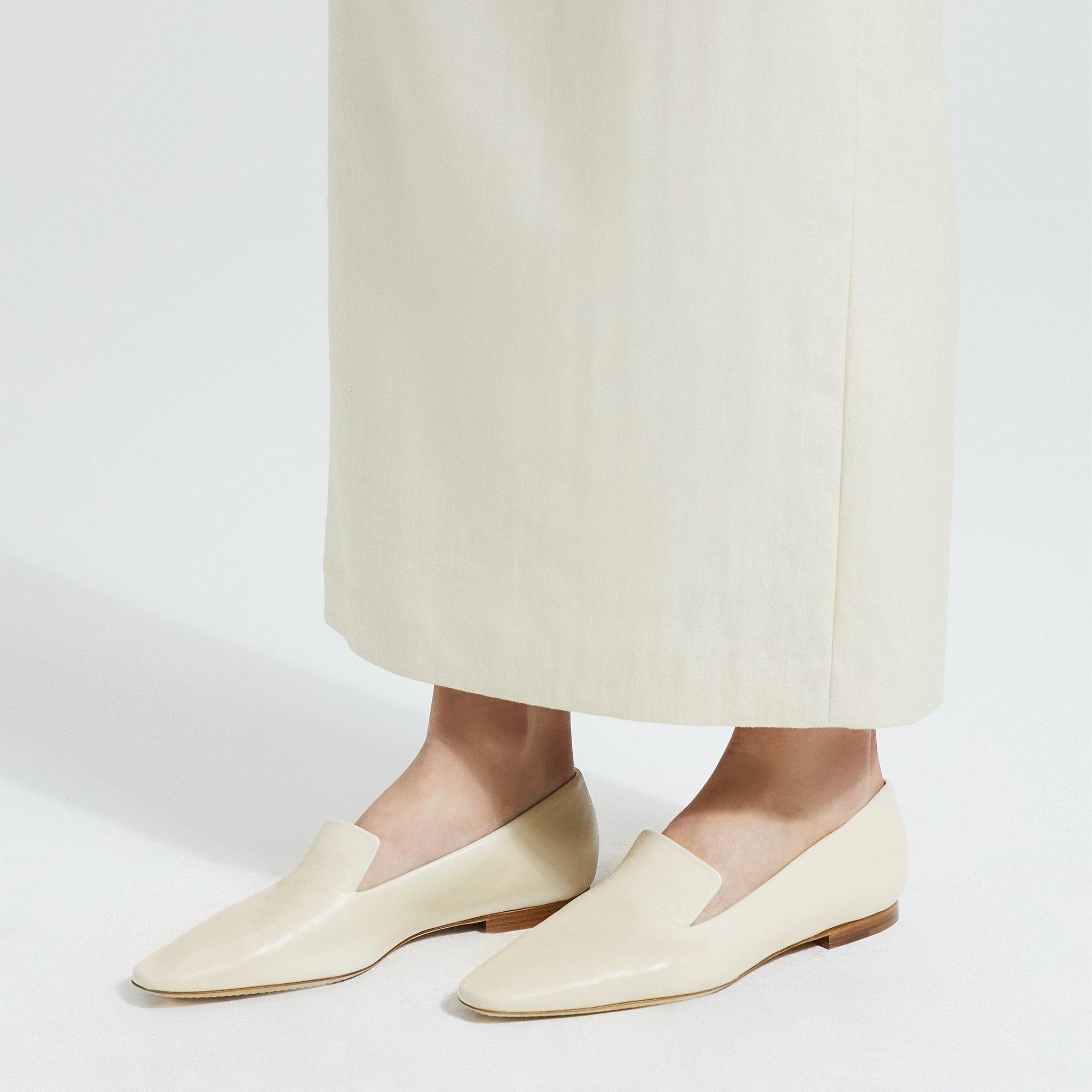 Theory Vintage Slipper  - IVORY - female - Size: 39