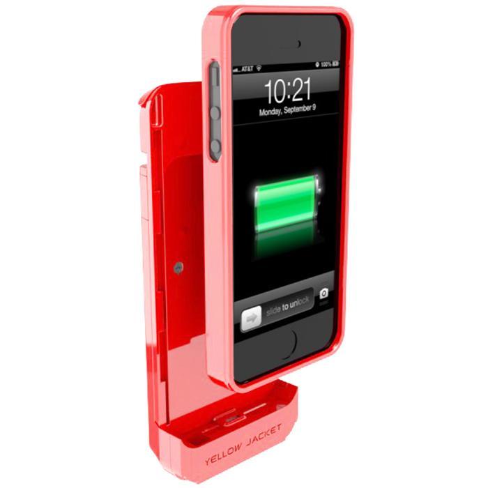 HomeSecuritySuperstore IPhone 4 Stun Gun Case & Battery Pack Pink