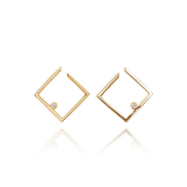 Jackie Mack Fair & Square Earrings