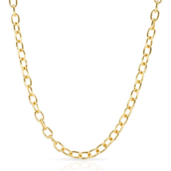 Jackie Mack Playa Necklace Gold Vermeil
