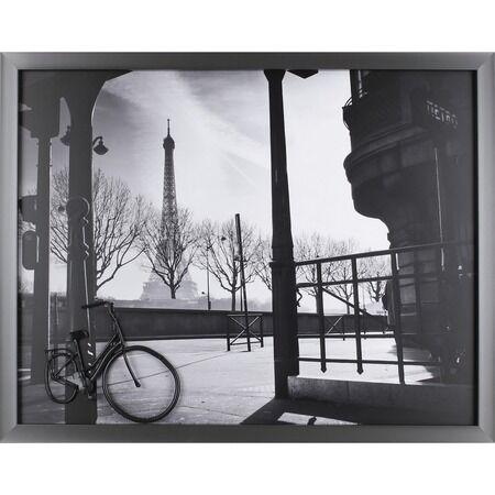 Lorell Paris Bike Metal Element Framed Photograph