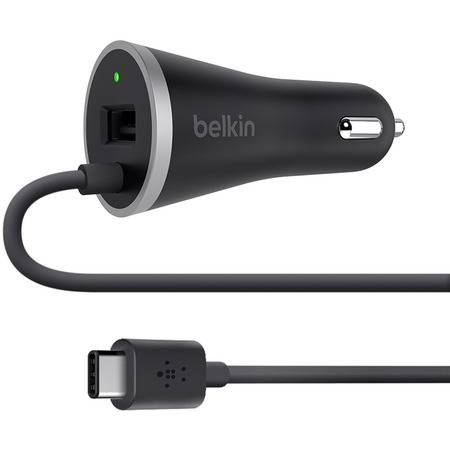 Belkin USB-A Port/USB-C Car Charger