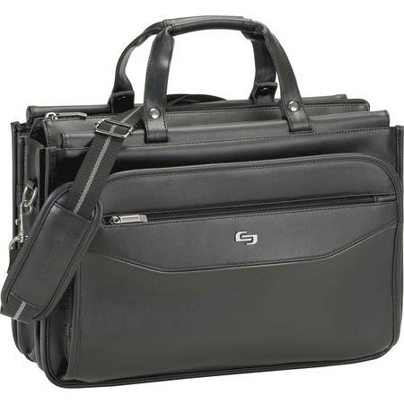"""Solo Carrying Case (Briefcase) for 16"""" Notebook - Black"""