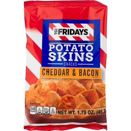 INVENTURE FOODS TGI Fridays Cheddar/Bacon Snack Chips