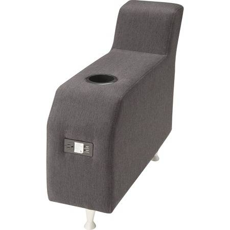 Lorell Wholesale Chairs & Seating Accessories: Discounts on Lorell Fuze Modular Lounge Series Brown Guest Seating LLR86922