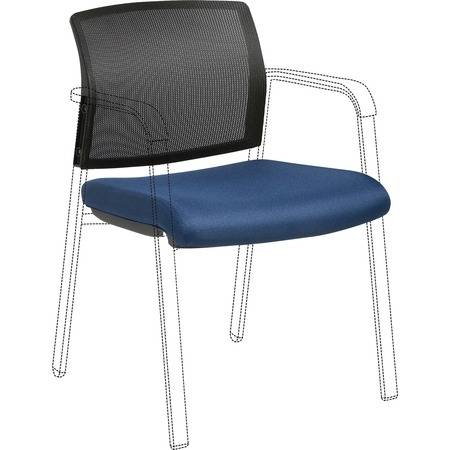 Lorell Wholesale Chairs & Seating Accessories: Discounts on Lorell Stackable Chair Mesh Back/Fabric Seat Kit LLR30945