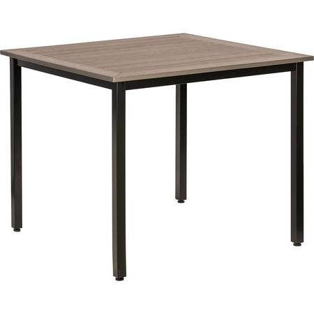 Lorell Wholesale Tables & Desks: Discounts on Lorell Charcoal Outdoor Table LLR42686