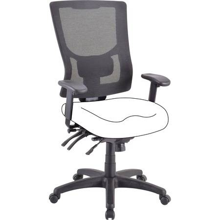 Lorell Wholesale Chairs & Seating Accessories: Discounts on Lorell Mesh High-Back Chair Frame LLR62002