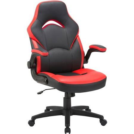 Lorell Wholesale Chairs & Seating: Discounts on Lorell Bucket Seat High-back Gaming Chair LLR84387