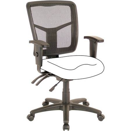 Lorell Wholesale Chairs & Seating Accessories: Discounts on Lorell Mid-Back Chair Frame LLR86211