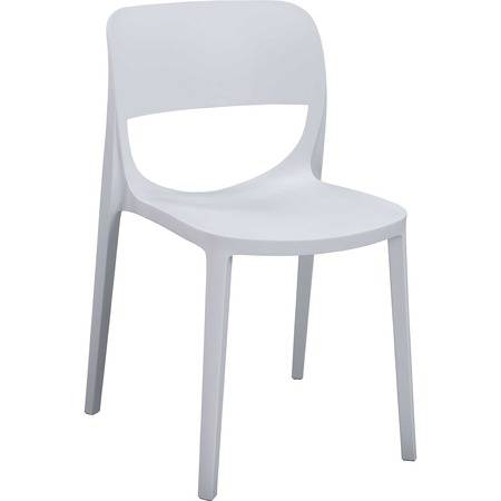 Lorell Indoor/Outdoor Hospitality Poly Stack Chair