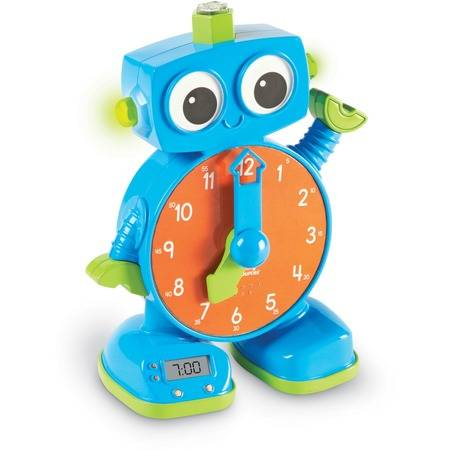 Learning Resources Tock The Learning Robot Clock