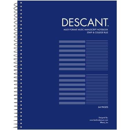 "Roaring Spring Descant Music Book 11""x8.5"""