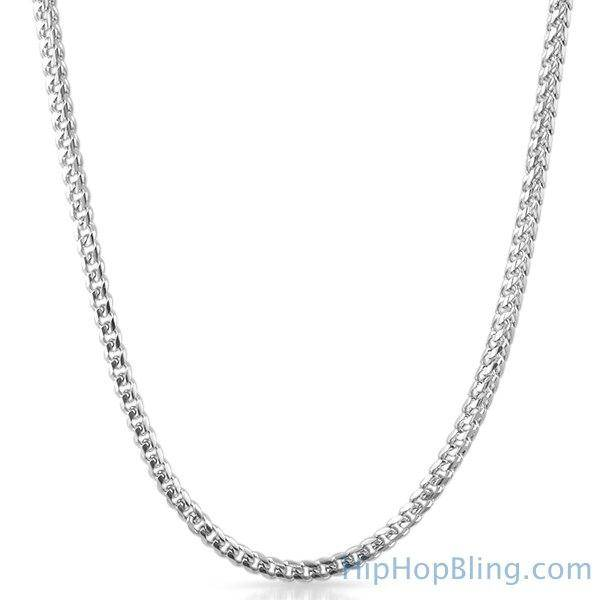 HipHopBling Miami Franco 316L Stainless Steel Chain