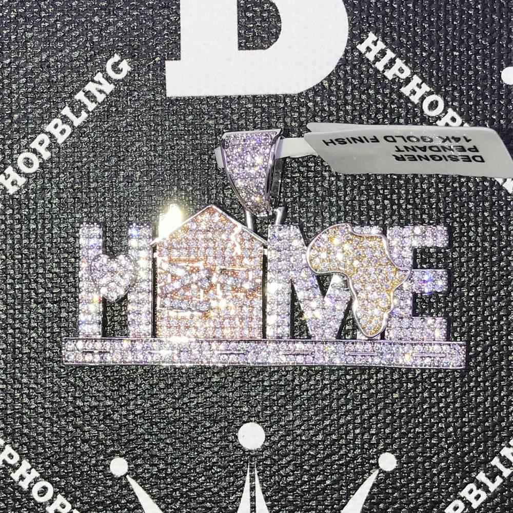 HipHopBling Africa Home CZ Hip Hop Bling Bling Pendant