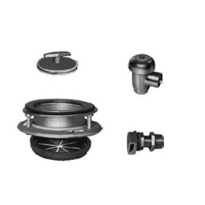 Hobart ACCESS-GROUPE Disposer Accessories w/ Cover Stopper, Sink Adapter Assembly & Water Inlet