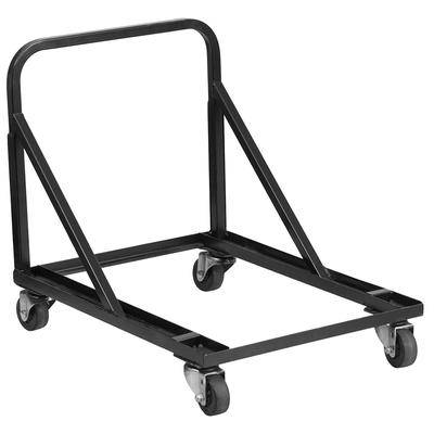 Flash Furniture HF-MUS-DOLLY-GG Chair Dolly w/ (18) Chair Capacity - Steel, Black
