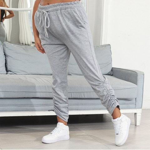 1 MaternityGrey Casual Sports Trousers