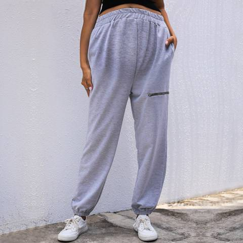 1 Maternity Casual Zippered Sports Trousers