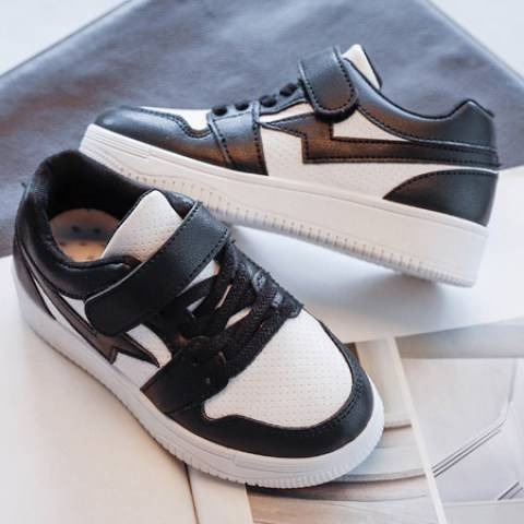 1 Kids Contrast Color Casual Sports Shoes