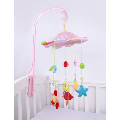 1 Baby rotatable music box bed bell