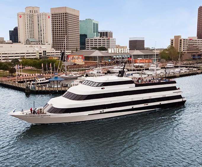 Spirit of Norfolk Brunch, Lunch, & Dinner Cruises