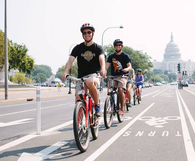 Washington DC Capital City Bike Tour