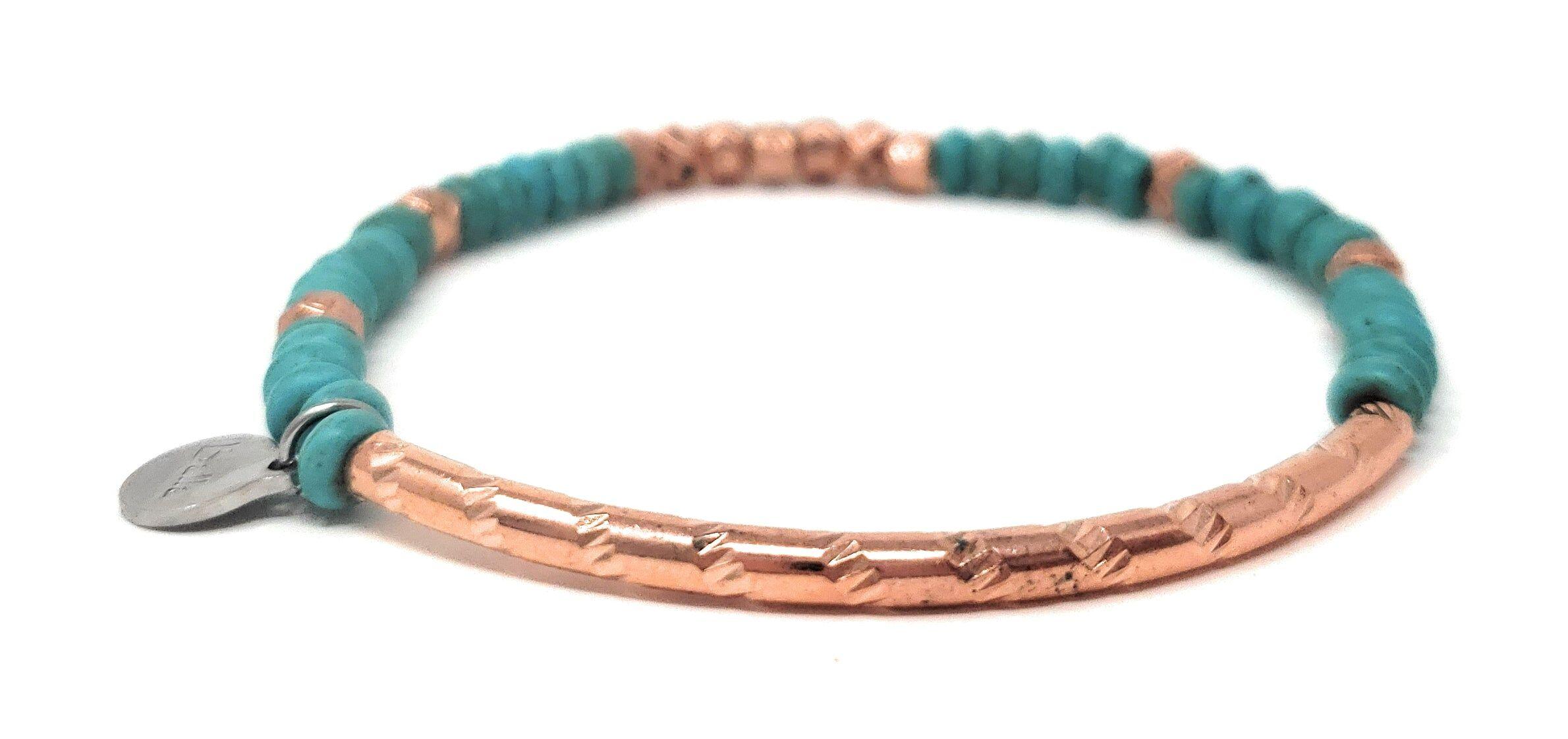 ballabracelets.com Rose Gold Bar Bracelet