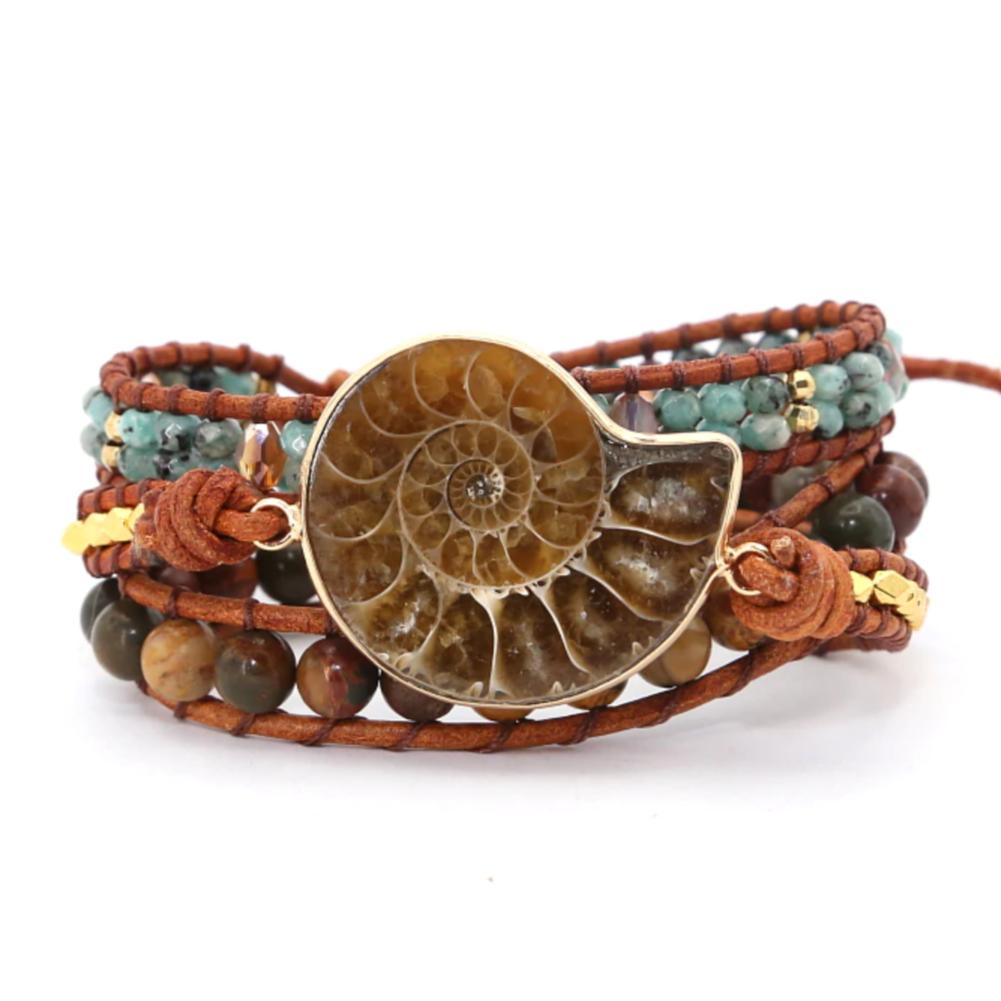 ballabracelets.com Ammonite Rarity Wrap Bracelet