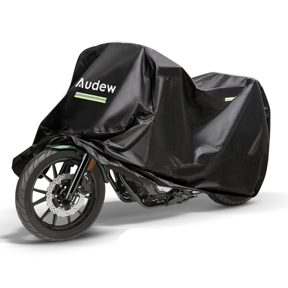 Audew Motorcycle Rain Cover Protective Breathable UV-Proof Waterproof