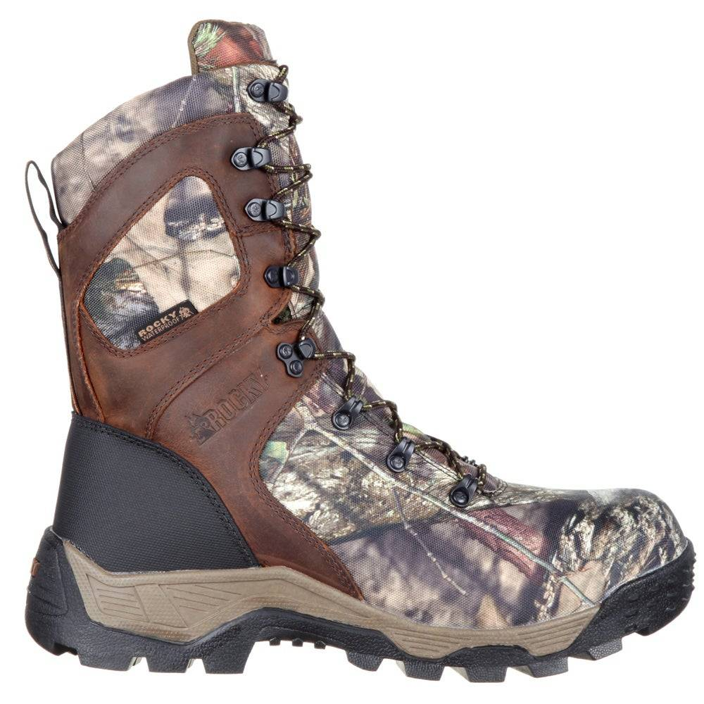 Rocky Sport Pro 9 inch Waterproof Insulated Outdoor Boots  - Brown - Men - Size: 8 D
