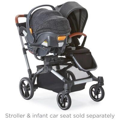 Ashley Furniture Kolcraft Contours Element Chicco Infant Car Seat Adapter, Black