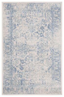 Ashley Furniture Accessory 3' x 5' Area Rug, White/Blue